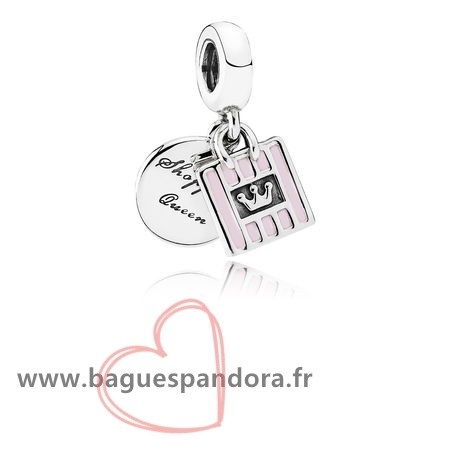 Bas Prix Pandora Pandora Passions Charms Chic Glamour Achats Queen Dangle Charm Soft Rose Email Populaire