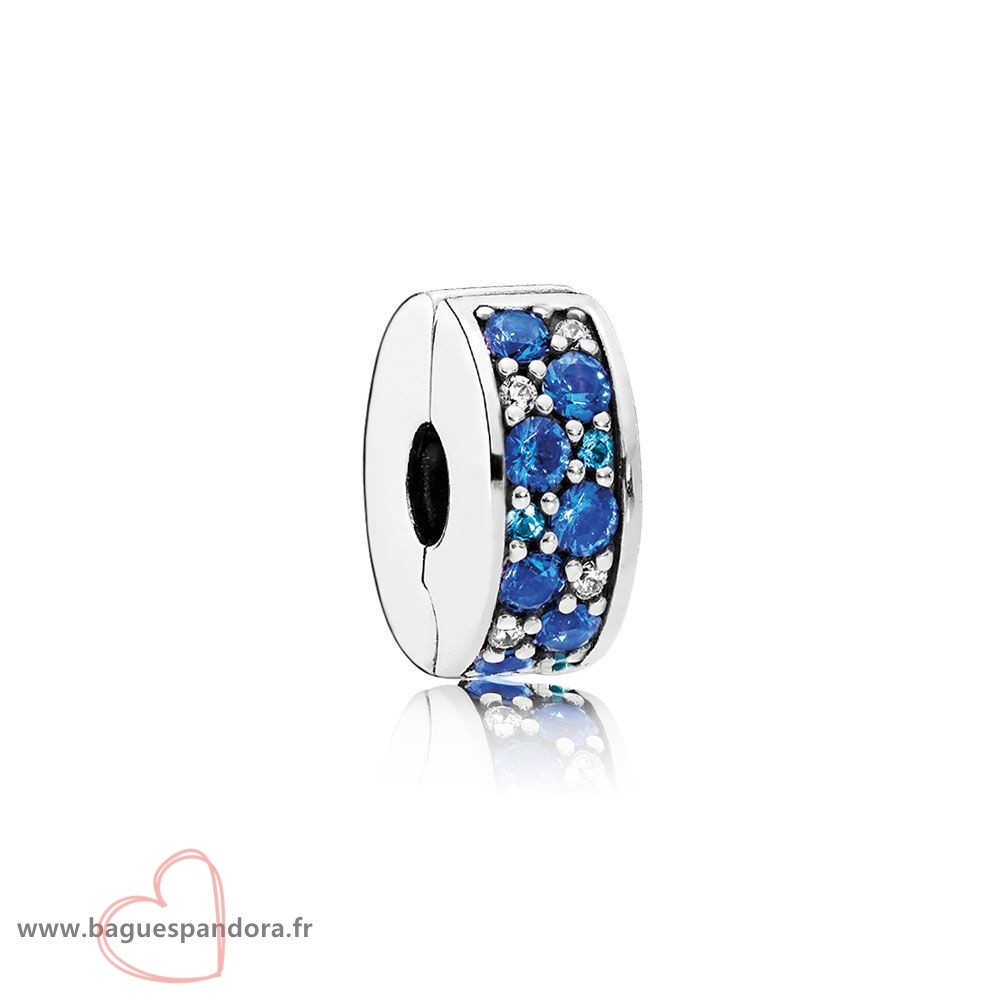 Bas Prix Pandora Pandora Charms De Couleur Mosaique Brillant Elegance Clip Multi Coloured Crystals Clear Cz Populaire