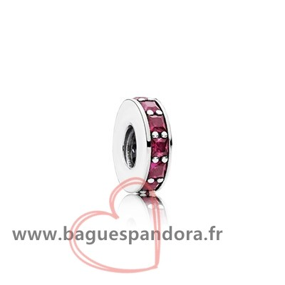 Bas Prix Pandora Pandora Espaceurs Charms Eternity Spacer Synthetic Ruby Populaire